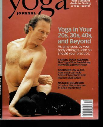 Yoga Journal Dec 2001 Karma Yoga Awards