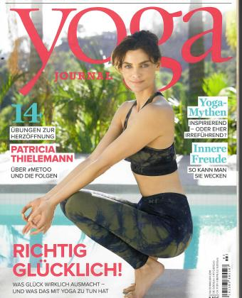 Yoga Journal Deutschland 3 magazine cover